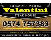 Foto principale di Valentini - Steak House Pizzeria - Prato Ristoranti