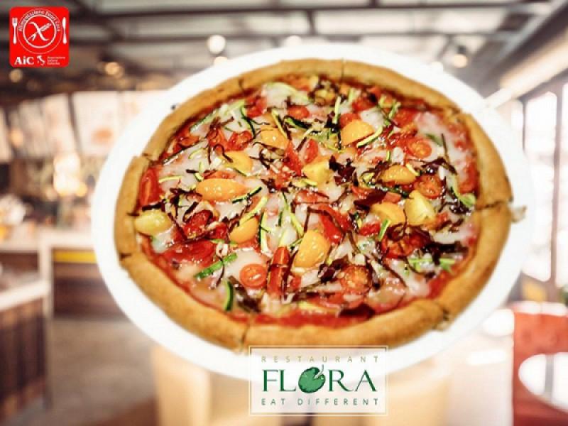 Foto 1 di PIZZE GLUTEN FREE E VEGAN  SCONTO 25% SUL CONTO TOTALE - FLORA EAT DIFFERENT