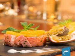 MENU' GOURMET DI MARE  per 2 persone  Vino e Dolce inclusi - FISH FIZZ FOOD BAR