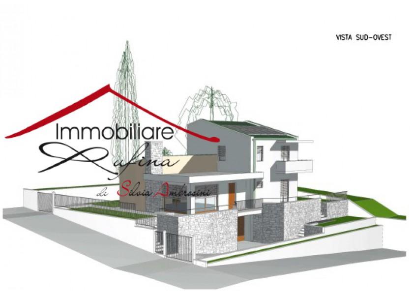 AREA EDIFICABILE in VENDITA a RUFINA - CENTRO