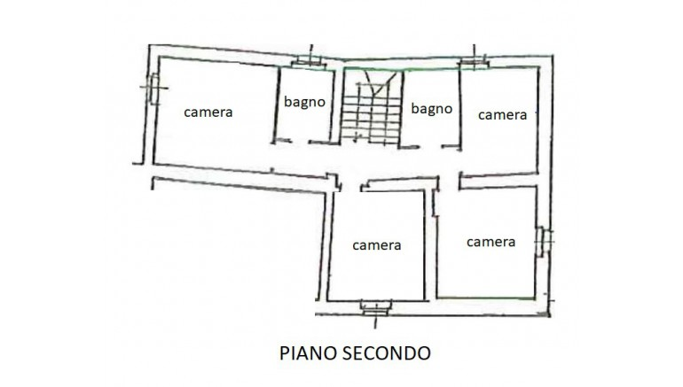 CASALE in VENDITA a MURLO - CASCIANO