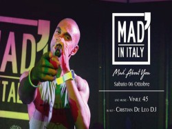 MAD' ABOUT YOU - MAD' IN ITALY