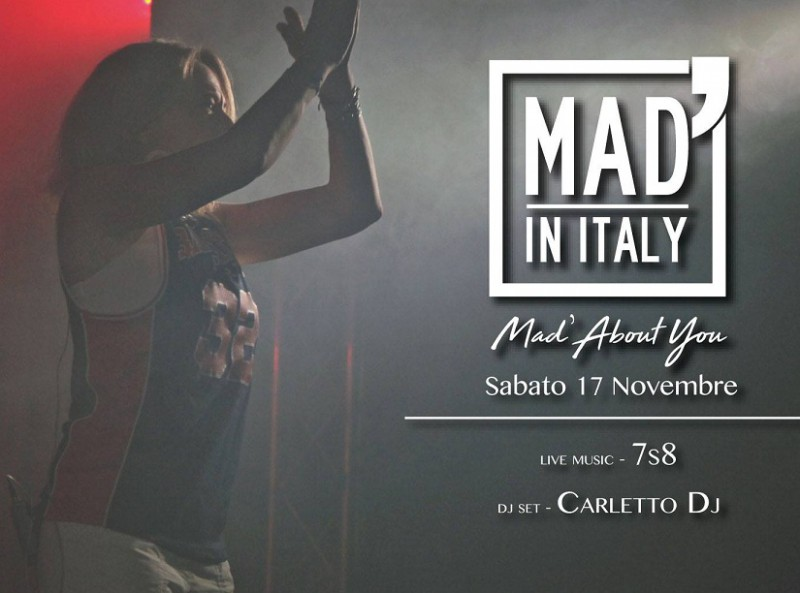 Mad'About You - MAD' IN ITALY