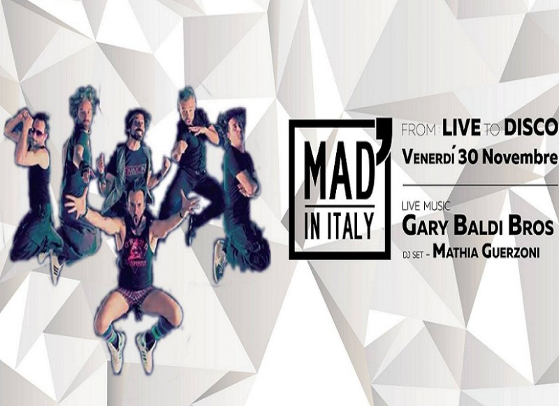 From: Live To: Disco - MAD' IN ITALY