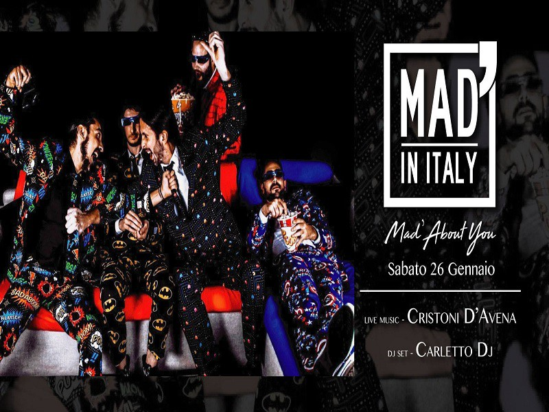 26/1 Mad'AboutYou Cristoni D'Avena - MAD' IN ITALY