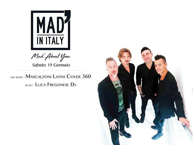 19/1 Mad'AboutYou Mascalzoni Latini - MAD' IN ITALY