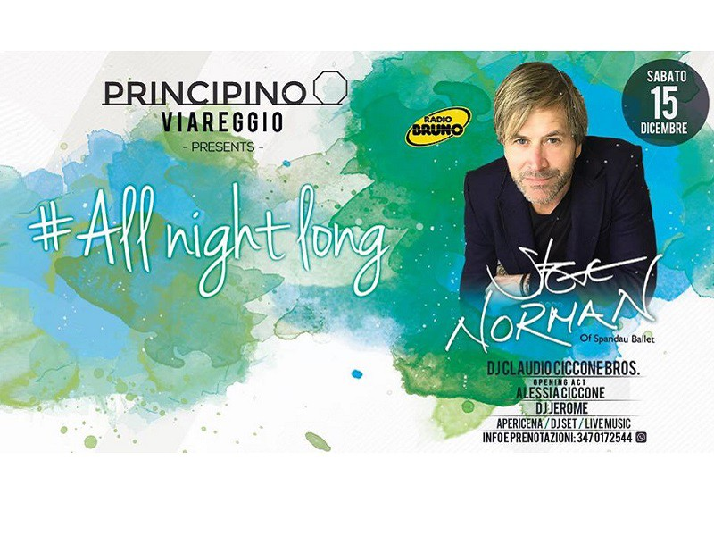 All Night Long! with Steve Norman - IL PRINCIPINO